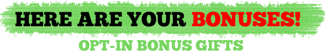 Here Are Your Bonuses!